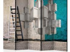 Paraván - Concrete blocks II [Room Dividers]